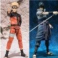 SHFiguarts Naruto Shippuden Uzumaki Naruto / Uchiha Sasuke PVC Action Figure Collectible Model Toy 14cm