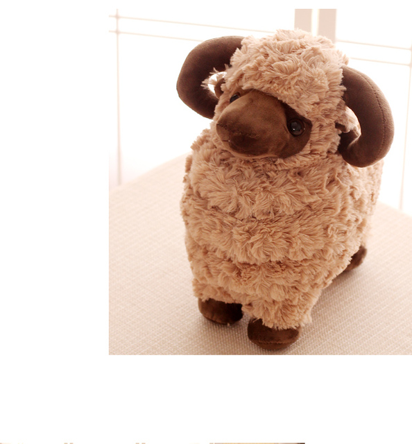 Plush doll 1pc 35cm little sheep plush toy doll gifts for baby
