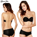 2016 Sexy Formal Dress One Piece Seamless Bra Cup Invisible A Blade Strapless Ladies Push Up Underwear Only Bra
