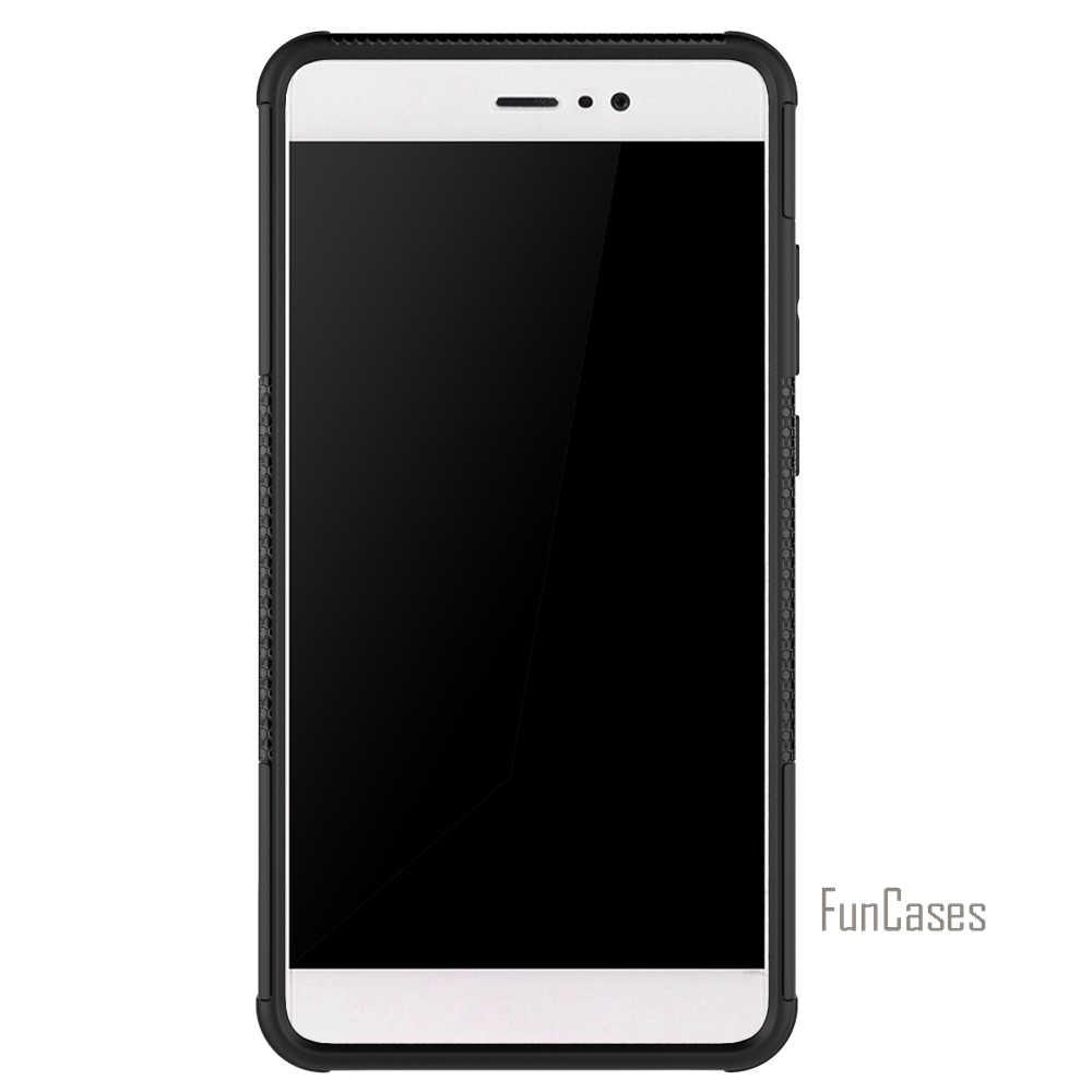 Per Il Caso di Huawei Compagno di 9 Mate9 Caso 5.9 Inch Hybrid Cavalletto Dazzle di Gomma Robusta Armatura Pc + Tpu di Caso Del Basamento Funzione caso Antiurto
