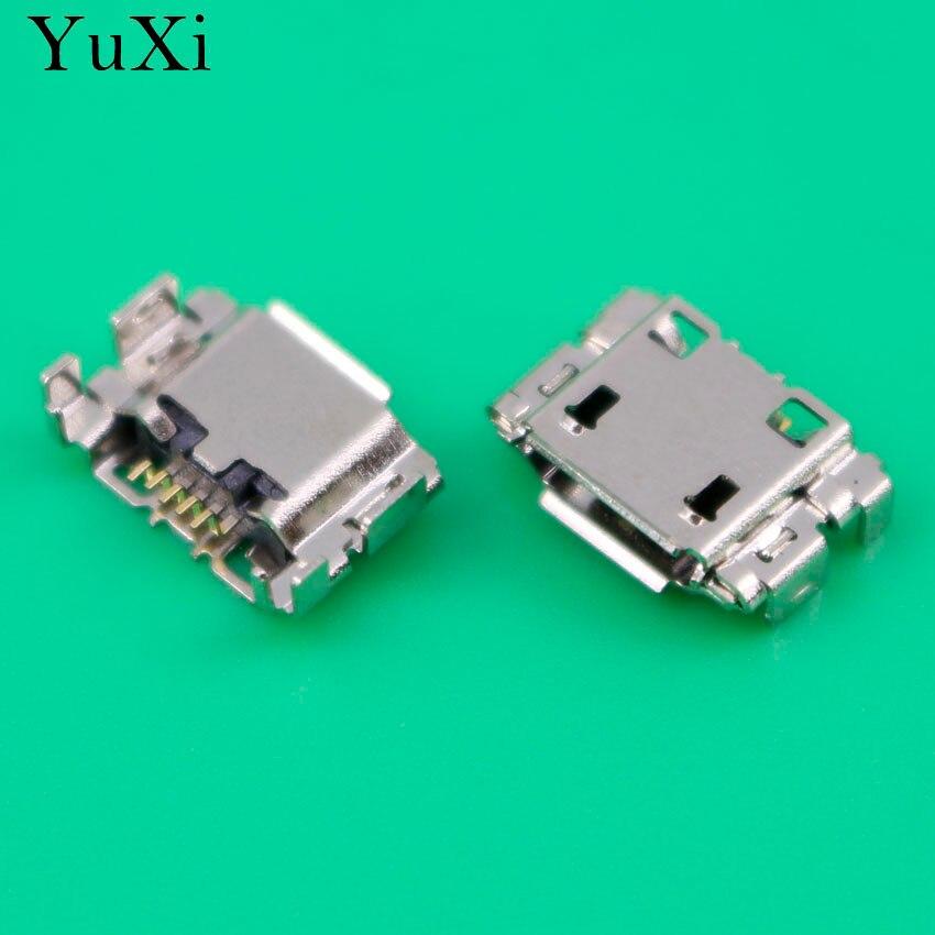 YuXi USB Connector Charging port Socket 5PIN 5 pin Micro USB Jack Plug