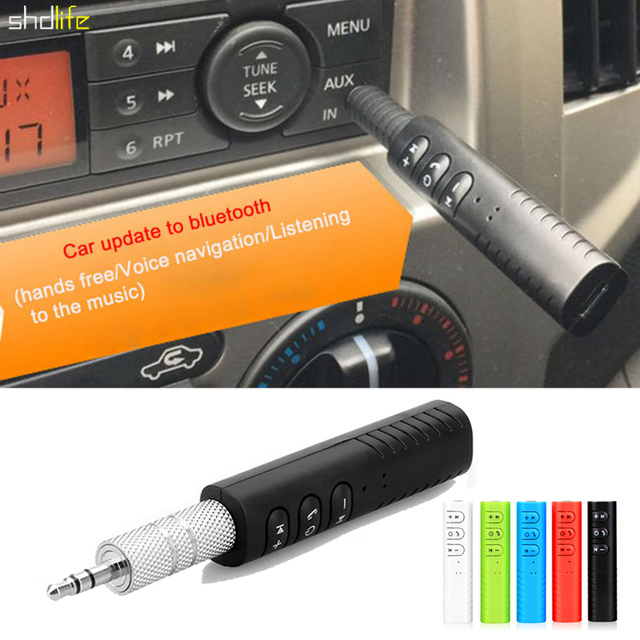 Car Bluetooth Mp3 Fm Transmitter Stereo Audio Receiver Adapter For