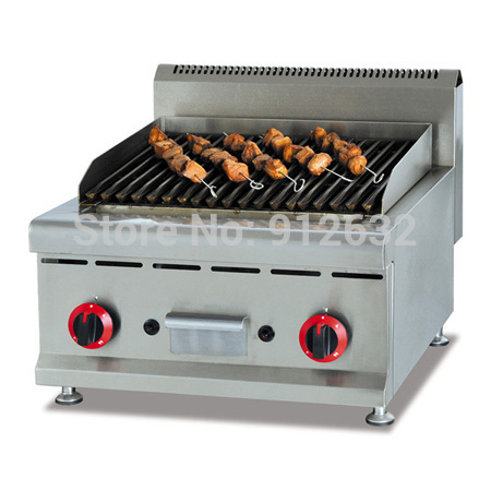 Counter Top Gas Lava Rock Grill Gas Grill Gas Bbq Grill