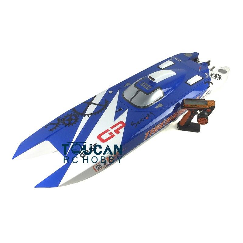 50 G30F 30CC Engine Fiber Glass Gas RC Boats Catamaran 70Km/h RC Boats Radio Sys Servos ARTR-RC BU reebok rc csw l2 pupb bu