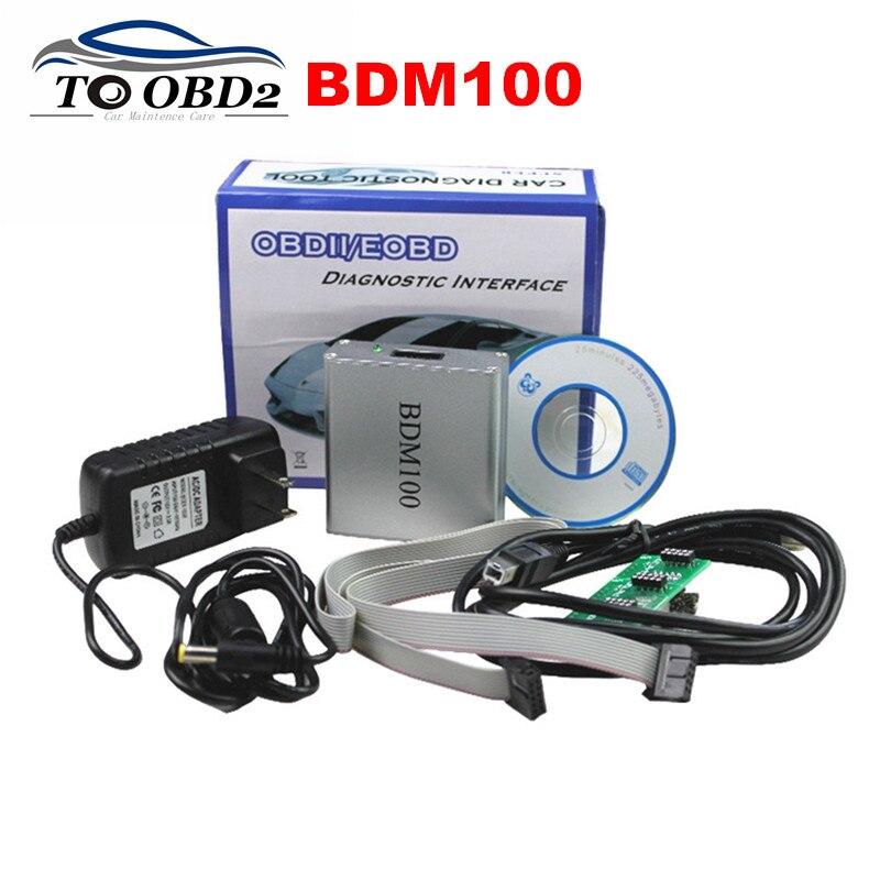 Nova V1255 BDM100 Universal Car Ferramenta de Diagnóstico Auto Leitor ECU/Flasher Programmer BDM 100 V1255 OBDII/EOBD ECU ferramenta de Ajuste Chip de