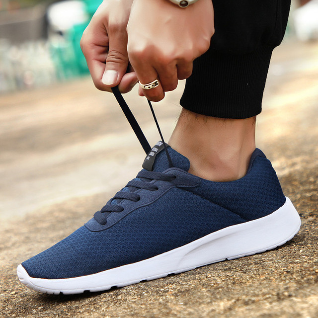 GUDERIAN Plus Size 35-48 Fashion Krasovki Men's Casual Shoes Male Sneakers Lightweight Breathable Shoes Tenis Masculino Adulto 3