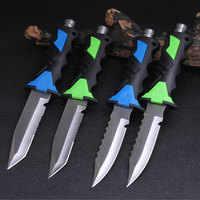 Fixed Blade Knife Survival Hunting Knives Supervivencia Climbing Fishing Diver Camping Outdoor Tool