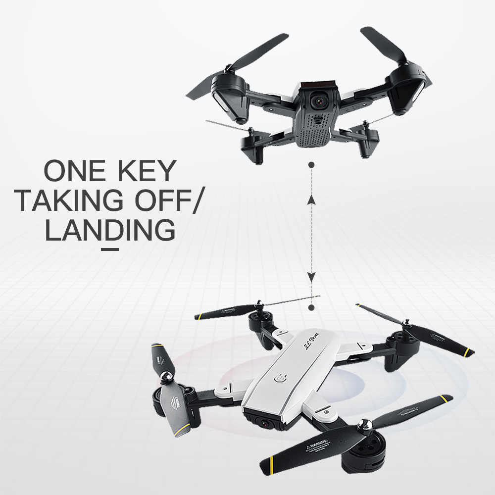 Dron SG700 0.3MP 2.0MP RC con cámara Wifi FPV plegable Selfie Dron 6 ejes giroscopio altura mantener sin cabeza RC quadcopter Dron