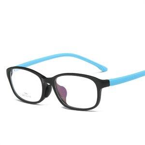 Image 3 - Occhiali per bambini del Ragazzo Della Ragazza Occhiali Da Vista Leggero Telaio Occhiali Per Bambini Occhiali Da Vista cornice Del Silicone di cura del naso 686