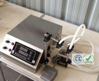 Máquina de llenado de líquido de bomba de engranajes de 3-4000 ml para Perfume  aceite  jugo  agua  salsa  leche GZL-50-2