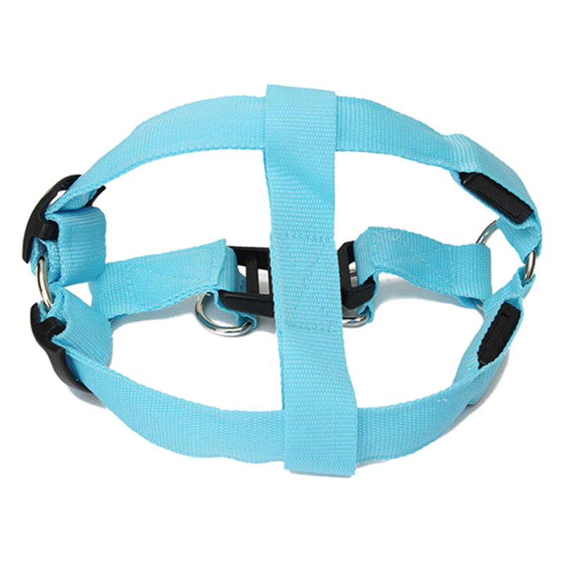LED luminous Pet Traction rope S/M/L Blue