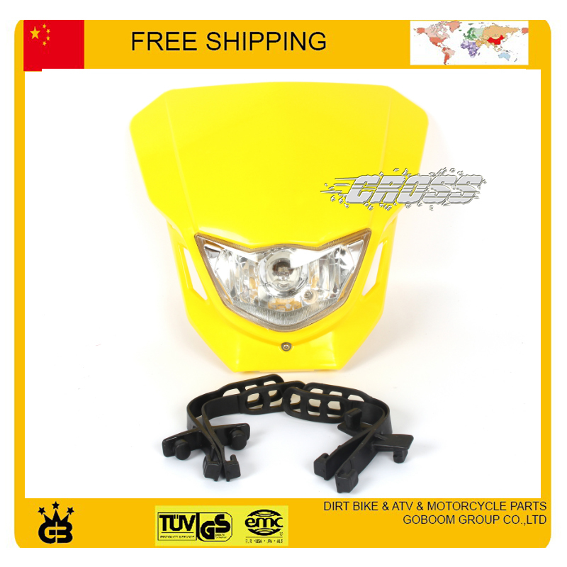 X2 T4 T8 CQR GY KTM kepala sepeda motor lampu kepala dipimpin topeng - Lampu mobil - Foto 5