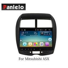 Panlelo סטריאו לרכב אנדרואיד 8.1 עבור מיצובישי ASX הנכרי לנסר ex 2 דין רדיו AM/FM GPS ניווט BT היגוי שליטת גלגל