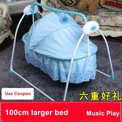 رائجة البيع طفل ذكي الكهربائية كرسي متأرجح سرير كهربائي سرير بيبي سوينغ الكهربائية سرير بيبي كرسي متأرجح الحديثة
