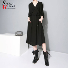 فستان المرأة السوداء ملابس