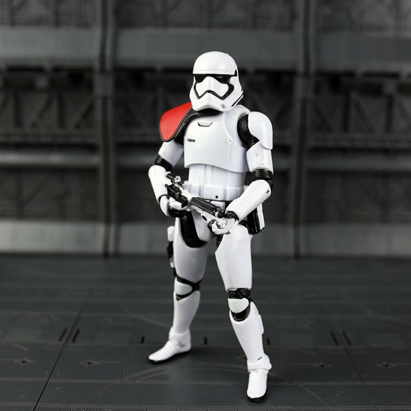 STAR WARS BLACK SERIES 6 SDCC FIRST ORDER STORMTROOPER