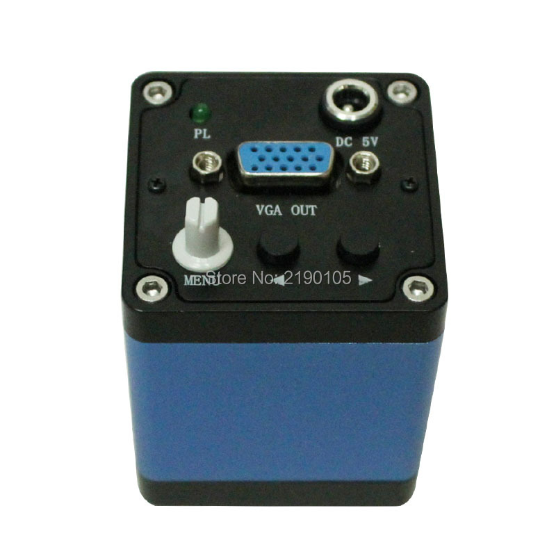 Free shipping Microscope industrial camera hd 2.0 MP camera high-speed 30 frames VGA output General digital microscope
