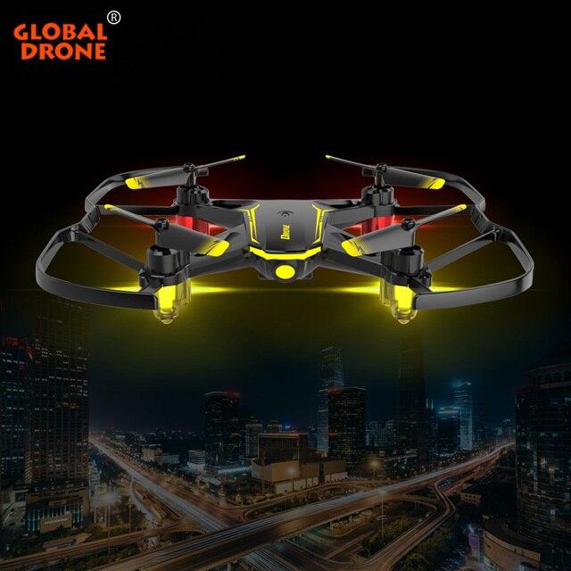 Global Drone GW66 мини Дрон Квадрокоптер, Радиоуправляемый вертолет Дроны с камерой вид от первого лица с камерой дистанционного управления игрушк...