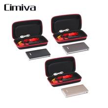 Cimiva 30000 мАч 12 VPortable Автомобиль Прыгать Booster Зарядное LED Аварийный Пуск Power Bank Новый