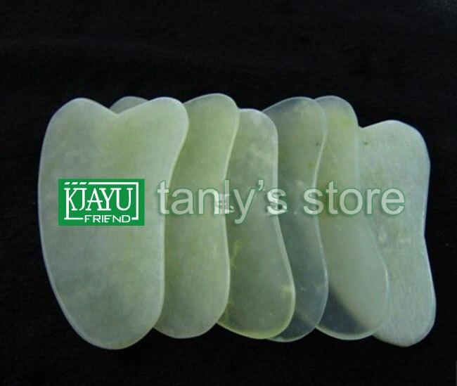 wholesale triangle guasha board good quality beauty salon big size jade plate