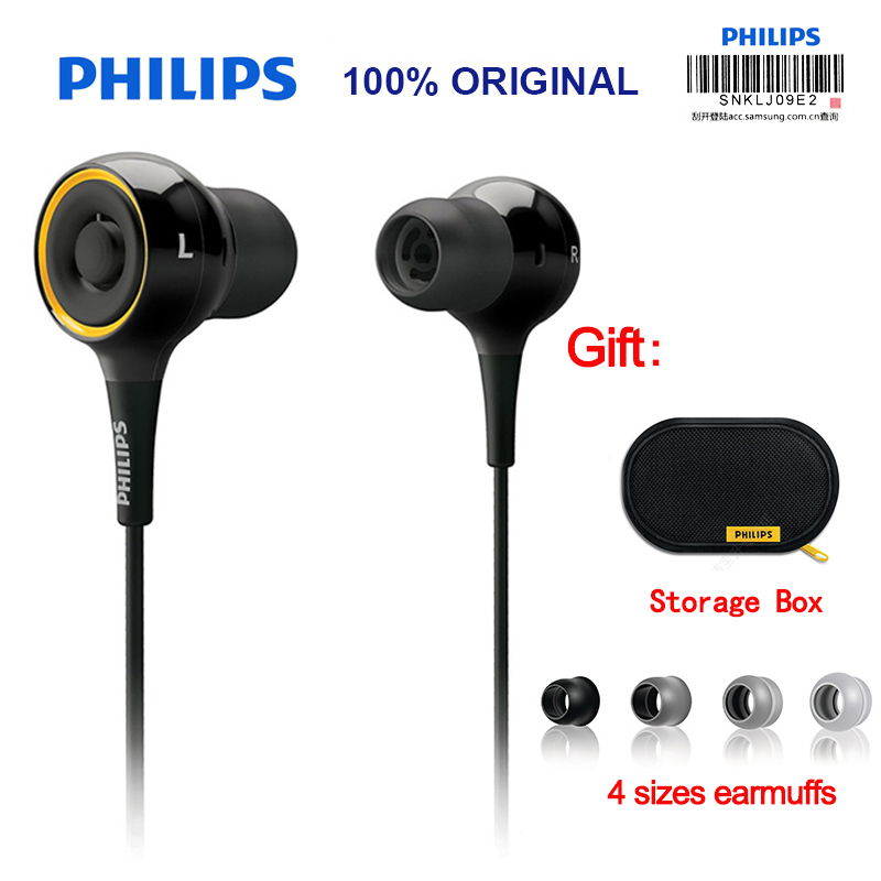 Philips SHE6000 Wired Earphone Sport Headset In-Ear Running Earpads for xiaomiSamsung Official Certification наушники philips she6000 page 2