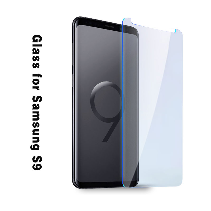 Mobile phone Tempered glass film for samsung s9 s8 s7 Scratch Proof and Ultra-thin for samsung s9 screen protector
