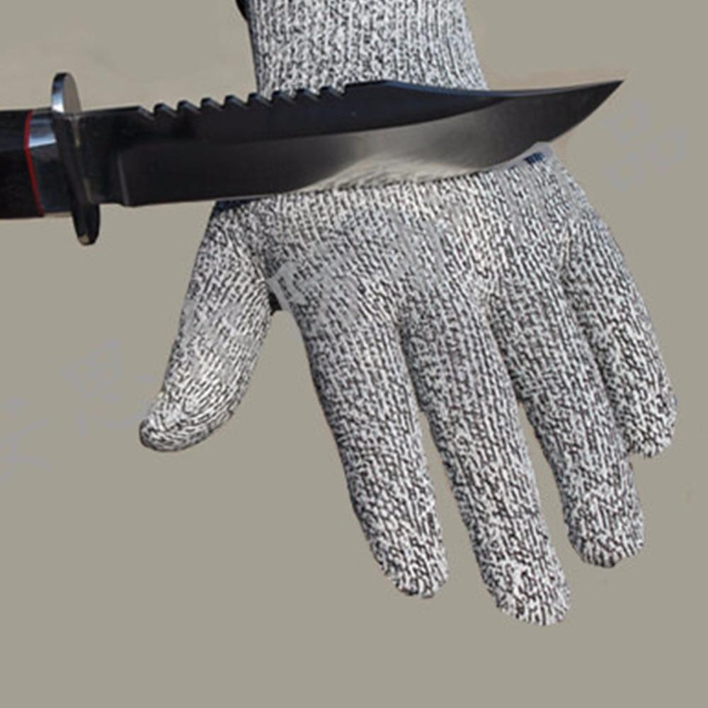 1 Paar Arbeits Sicherheit Handschuhe Proof Schützen Edelstahl Draht Cut Metall Mesh Butcher Anti-schneiden Atmungsaktive Handschuhe