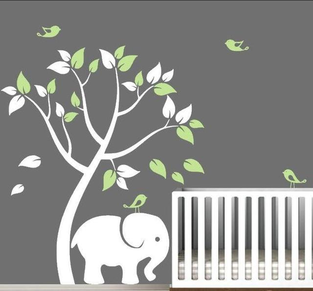 New Design Vinyl Wall Stickers Tree Home Decor Living Room - Nursery wall decals animals