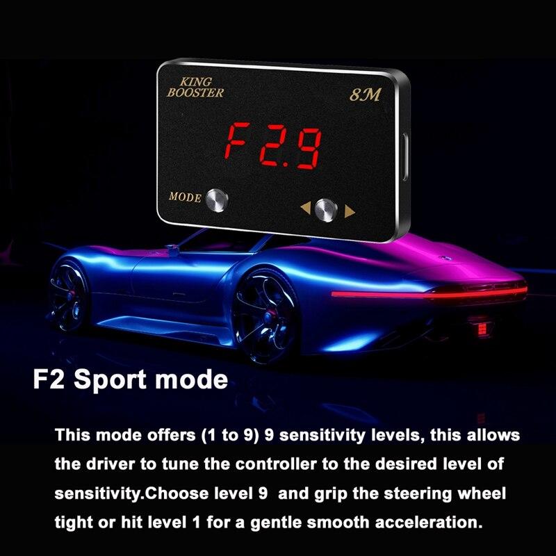F2 Sport mode throttle booster