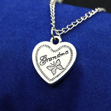 Korean version of the new popular love letter Butterfly Necklace female boutique jewelry sweater chain Z3206