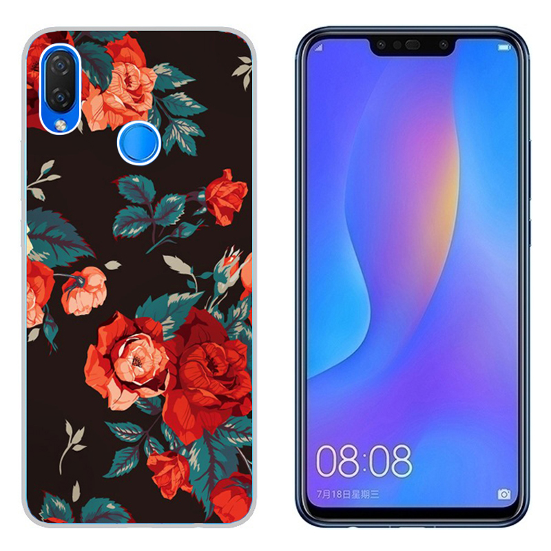 Learned Izyeky Case For Xiaomi Redmi Note 7 Moon Stars Planet Flower Silicone Back Cover For Xiaomi Redmi Note 7 Pro 6.3cover Coque High Quality Half-wrapped Case
