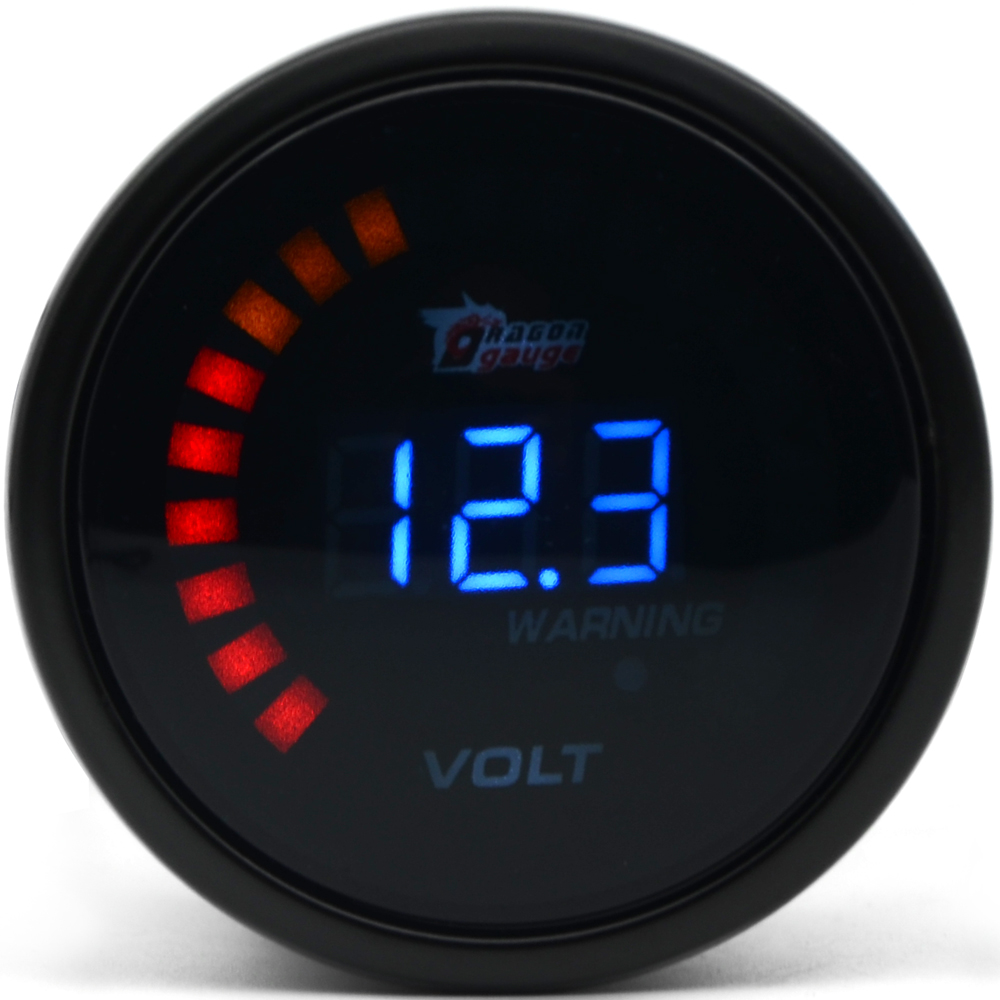 medium resolution of dragon gauge 2 52mm boost water temp oil temp oil pressure tachometer volt air fuel ratio egt vacuum gauge meter digital in boost gauges from automobiles