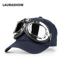 1 Piece Baseball Cap Solid Color Leisure Hats With Sunglasses Letter Embroidered Cap For Men And