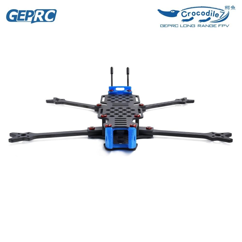 GEPRC GEP-LC7 Crocodile Big Space Strong Endurance DIY FPV RC Drone Carbon  Fiber Frame