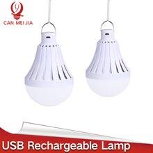 High Power Led E27 USB Rechargeable Emergency Bulb Lamp LED Bulbs 220V E27 Bombillas Led 12W 20W 30W 40W Outdoor Camp Lighting