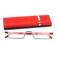 2016 Half Frame Brush Pot Tr90 Reading Glasses With Uv Protection Reading Glasses For Men Women