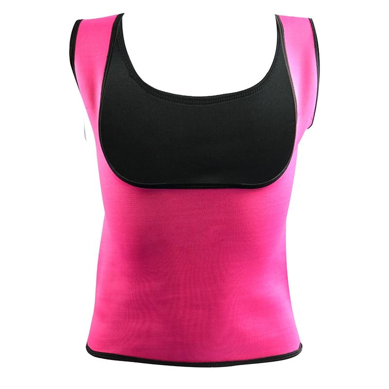 Plus Size Neoprene Sweat Sauna Hot Body Shapers Vest Waist Trainer Slimming Vest Shapewear Weight Loss Waist Shaper Corset new