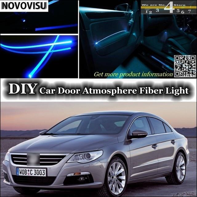 NOVOVISU For Volkswagen VW Passat CC interior Ambient Light Tuning Atmosphere Fiber Optic Light Inside Door & NOVOVISU For Volkswagen VW Passat CC interior Ambient Light Tuning ...
