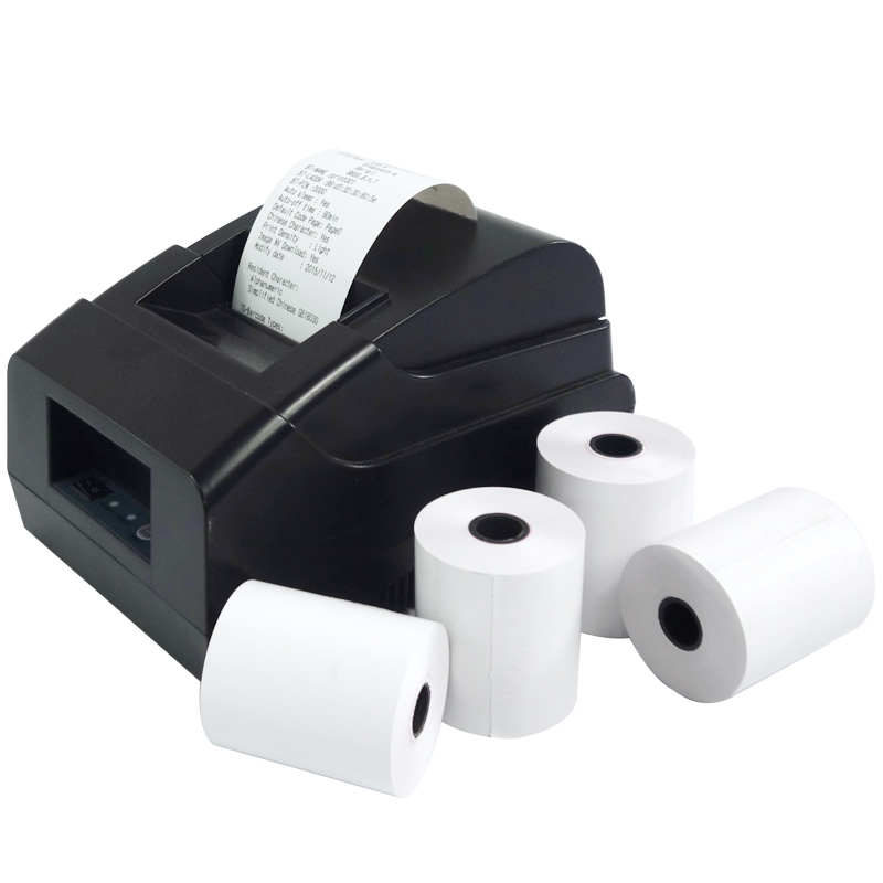 (50 Rolls) Factory Direct Sales Thermal Receipt Paper 57 X 50mm Cash Register  Paper Roll 2 1/4