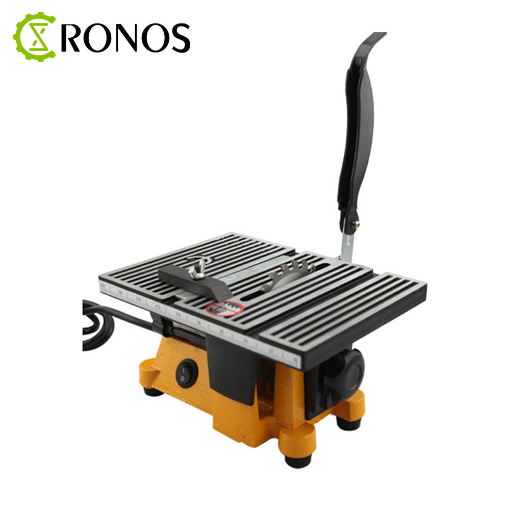 High Quality 1pc 220V 60W Mini Table Saw/Mini Bench Saw Alloy Blade Diamond Blade Cuts Stone Wood Copper Aluminium Lead