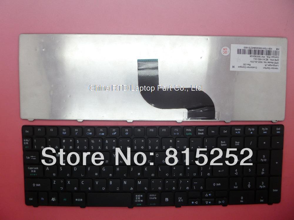 ФОТО Keyboard For ACER Aspire 5810 5750 5750G 5733 5733Z 5538 JP Japanese KB.I170A.159 9Z.N1H82.C0J NSK-ALC0J