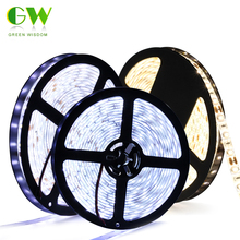 New LED Chip SMD 5730 strip flexible light 12V Waterproof ip65 60LED/m 5m/lot, Super Bright lighting