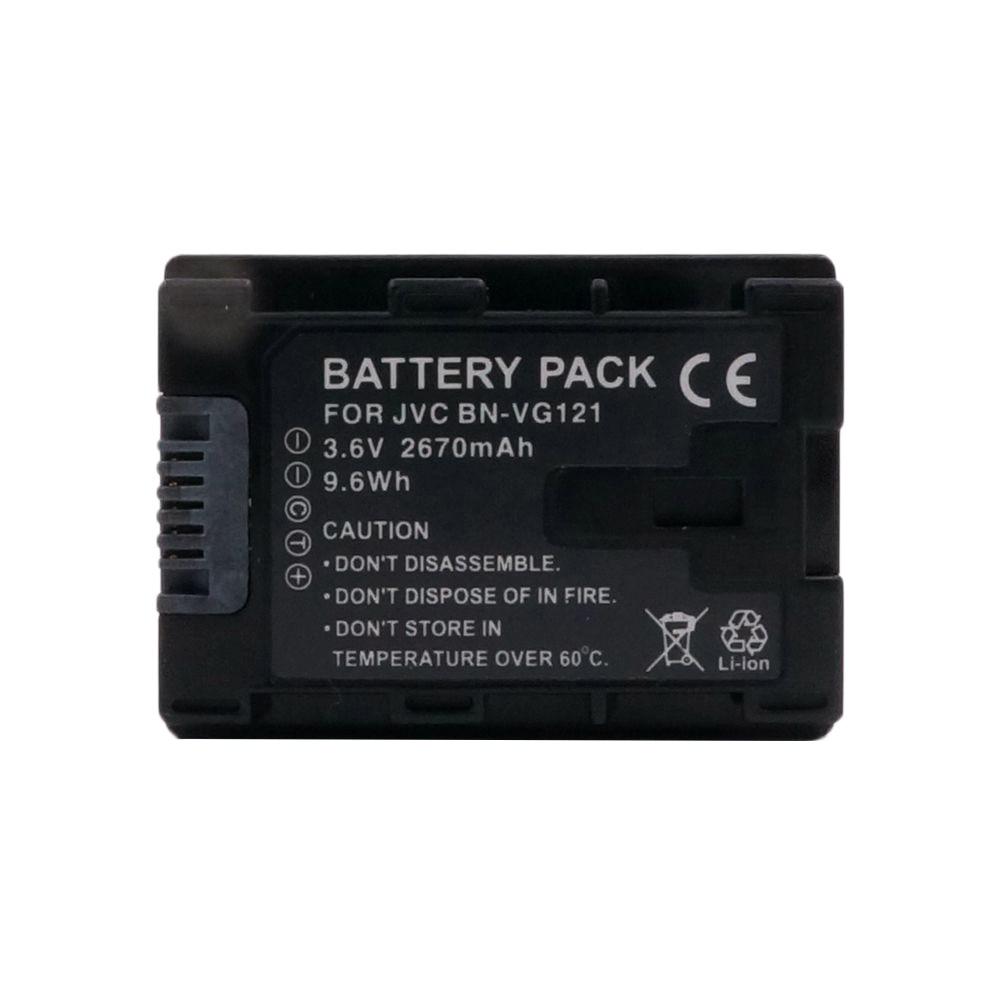 2670 мАч BN-VG121 б . н . VG121 для JVC GZ-HD620 GZ-HD500 GZ-HM320 GZ-HM550 GZ-HM860 GZ-HM960 GZ-HM970 GZ-HM855