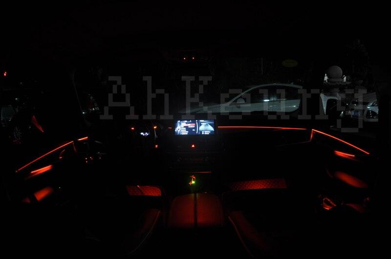Per volvo c30 car interior luce ambientale pannello di illuminazione