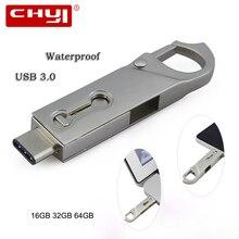 Type C USB 3 0 Flash Drive 16 32 64GB Pendrive PC Tablet Smartphone OTG USB