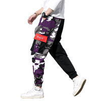 Camo Cargo Pants 2019 Mens Fashion Baggy Tactical Trouser Hip Hop Casual Cotton Multi Pockets Pants Streetwear Male Trousers 5XL
