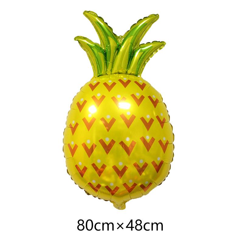 новый 1 шт. фрукты арбуз ананас воздушные шары фольга шар день рождения свадебные украшения событие для вечеринок игрушечные лошадки
