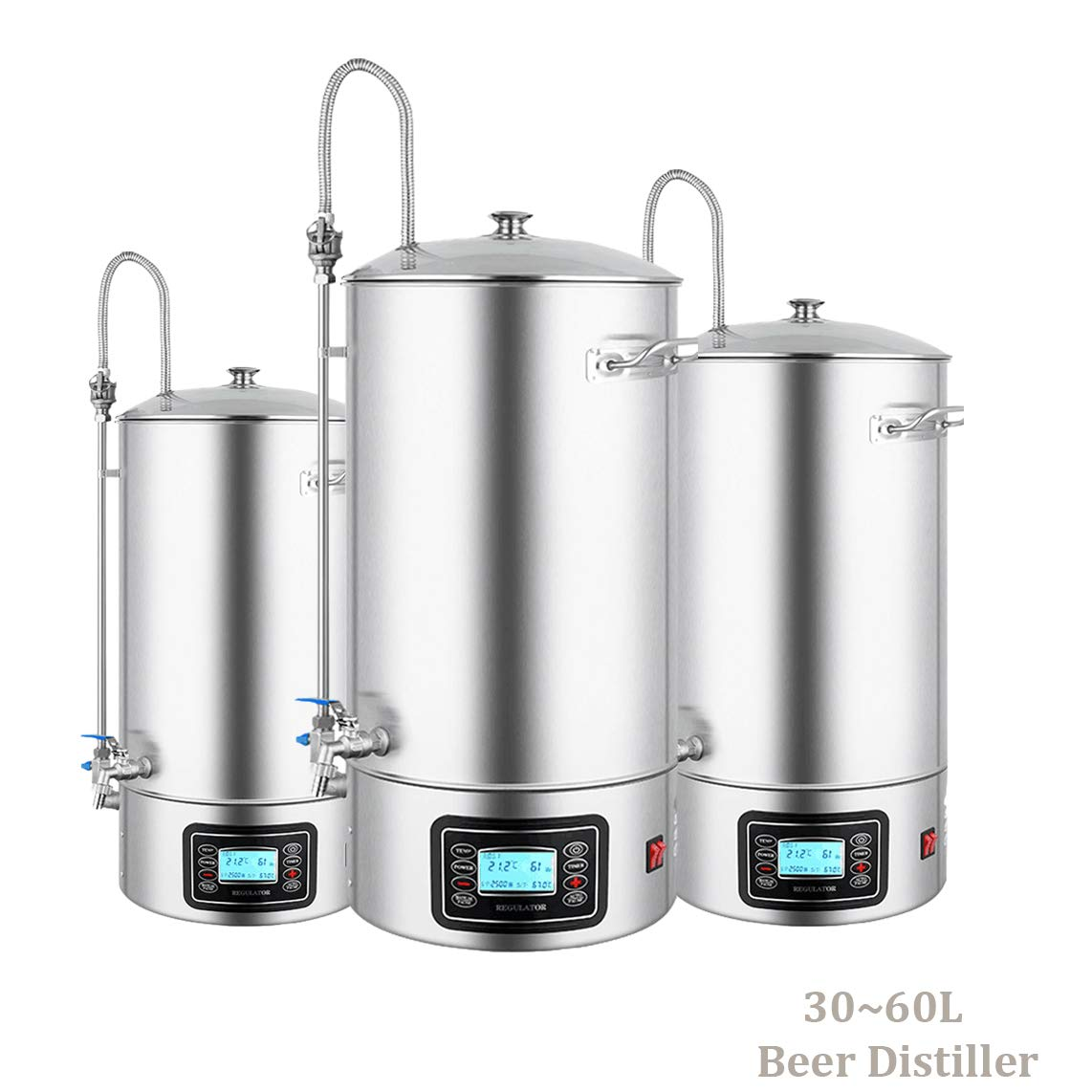 30L-60L Home Brew Beer Lager Making Equipment All Grain Beer Brewing System