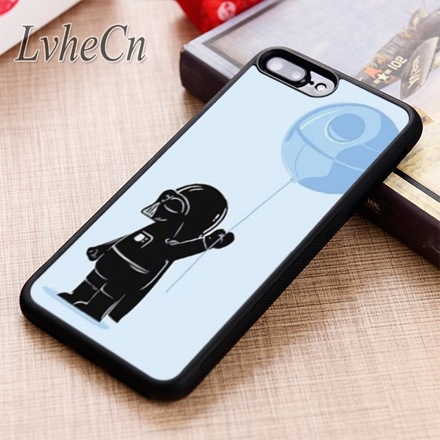 Lvhecn Darth Vader Death Star Funny Phone Case Cover For Iphone 6 6s 7 8 X Xr Xs Max 5s Se Samsung Galaxy S6 S7 Edge S8 S9 Plus Beneficial To Essential Medulla Cellphones & Telecommunications