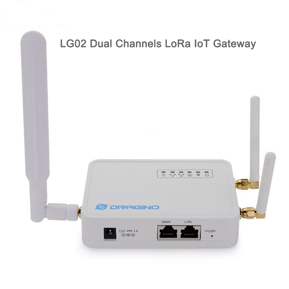 For Dragino LG01-P Wifi LoRa Gateway 433mhz/ 868mhz / 915Mhz Long Distance  Wireless ,Open Source OpenWrt LoRa IoT +Power Supply